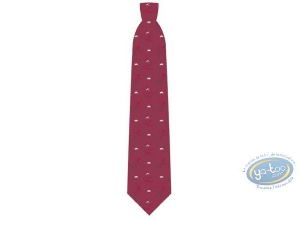 Vêtement, Simpson (Les) : Cravate, Bart Simpson skateboard bordeaux