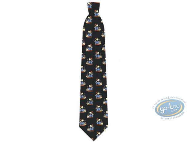 Vêtement, Achille Talon : Cravate, Achille Talon noire