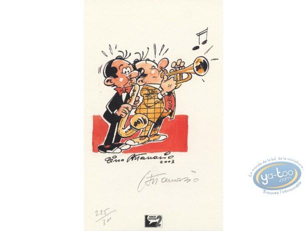 Ex-libris Offset, Spaghetti : Jazzmen