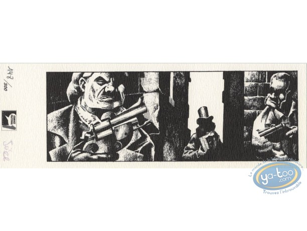 Ex-libris Offset, Guet-apens