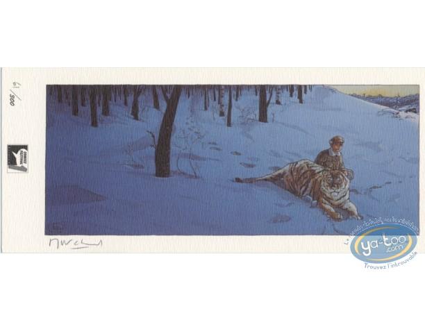 Ex-libris Offset, Little Nemo : Tigre dans la neige