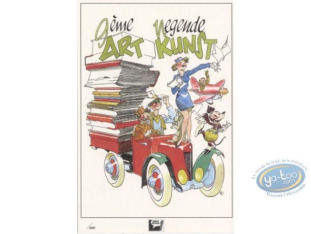 Ex-libris Offset, Séverin : Hommage au 9ème Art