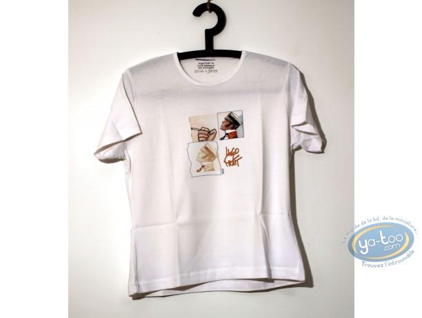 Vêtement, Corto Maltese : T-shirt blanc, Lady 02/01 taille XS