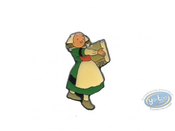 Pin's, Bécassine : Bécassine panier à linge
