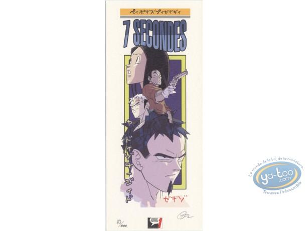 Ex-libris Offset, 7 Secondes : Manga