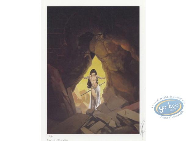 Affiche Offset, Varanda : La caverne