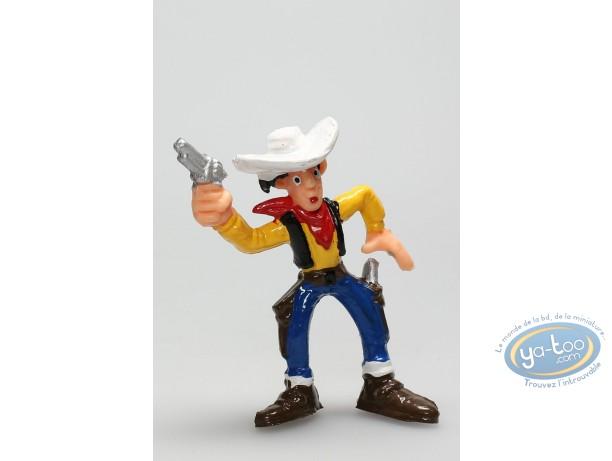 Figurine plastique, Lucky Luke : Lucky Luke pistolet en l'air