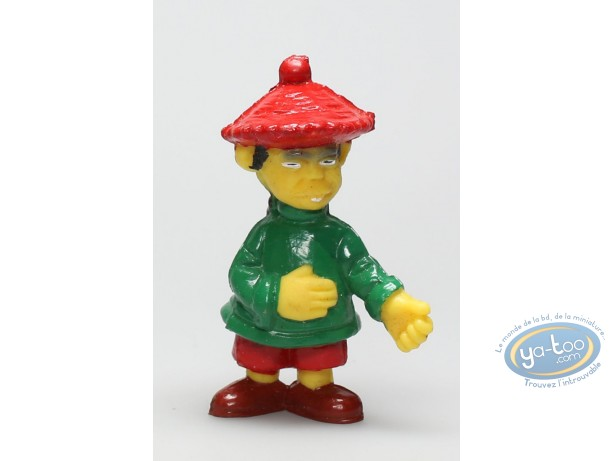 Figurine plastique, Lucky Luke : Le teinturier chinois
