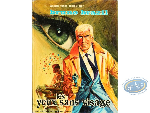 BD cotée, Bruno Brazil : Bruno Brazil, Les Yeux sans Visage