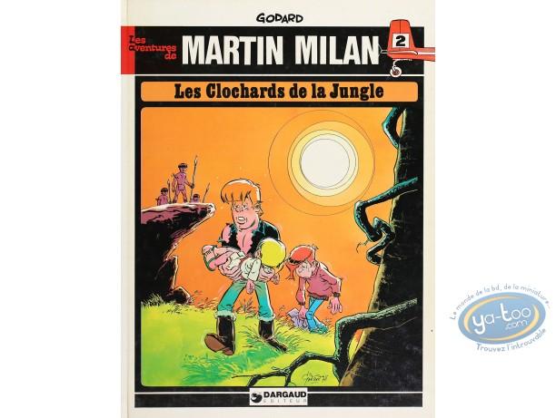 BD cotée, Martin Milan : Les Clochards de la Jungle