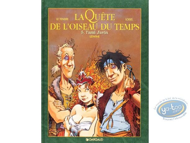 BD cotée, Quête de l'Oiseau du Temps (La) : La Quête de l'Oiseau du Temps, L'ami Javin