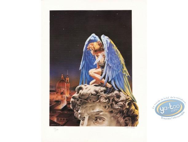Affiche Offset, L'ange