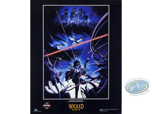 Affiche Offset, 3X3 Eyes : Kikushi, Wicked City