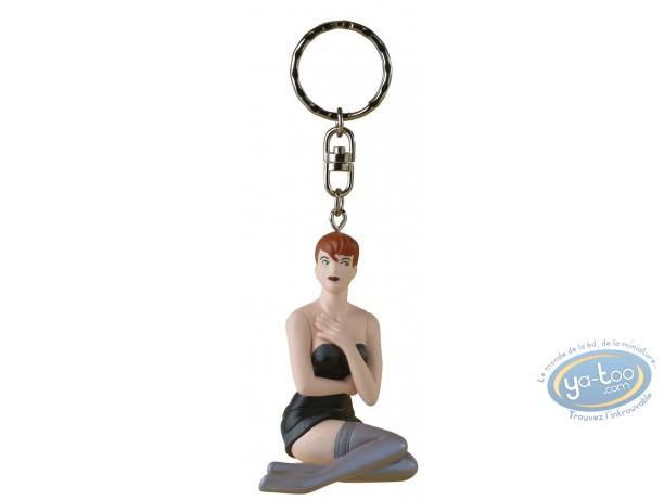 Figurine plastique, Pin-Up : Porte-clef Dottie