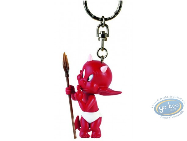 Figurine plastique, Hot Stuff : Porte-clef Chuuuut 2