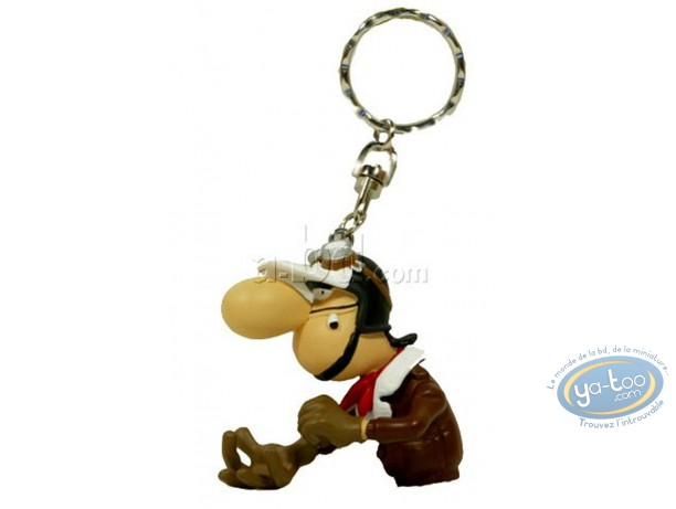 Figurine plastique, Joe Bar Team : Porte-clef Edouard Bracame