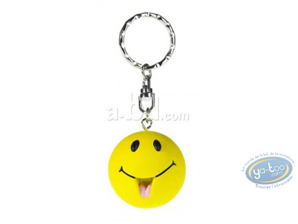 Porte-clé, Smiley : Smiley langue
