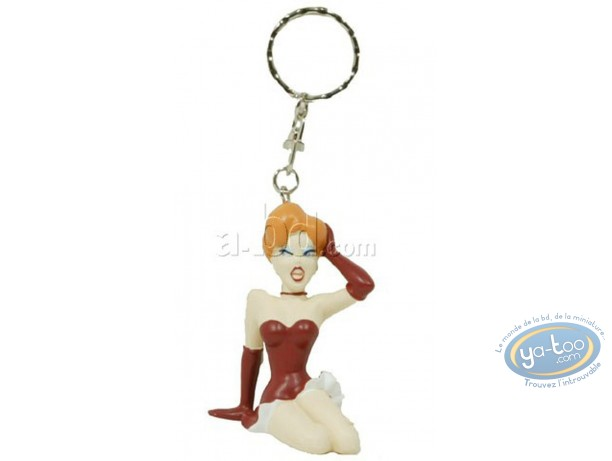 Figurine plastique, Vamp (La) : Porte-clef La Vamp