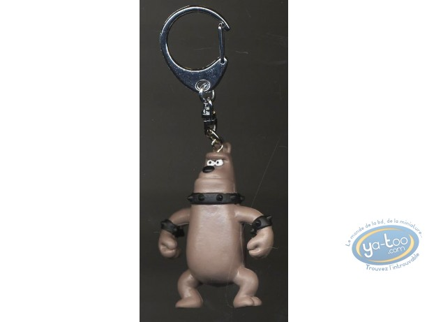 Figurine plastique, Wallace et Gromit : Porte-clef Preston