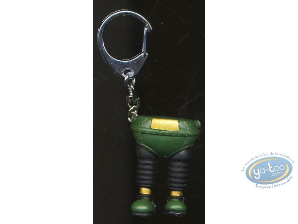 Figurine plastique, Wallace et Gromit : Porte-clef Pantalon magique