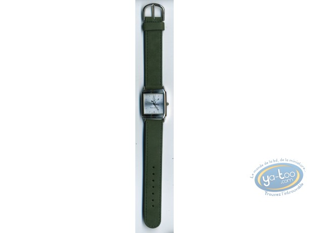 Horlogerie, Loup (Le) : Montre, Tex Avery Loup bracelet cuir