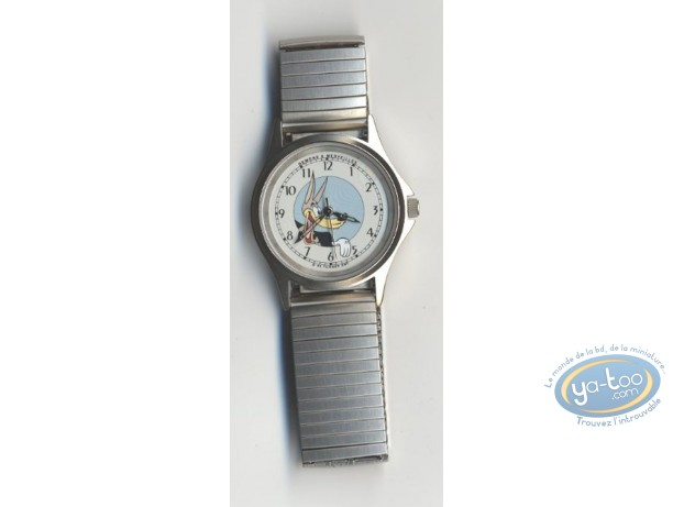 Horlogerie, Loup (Le) : Montre, Tex Avery Loup bracelet métal
