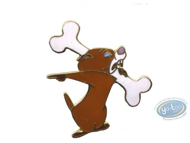 Pin's, Tex Avery : Ourson avec os
