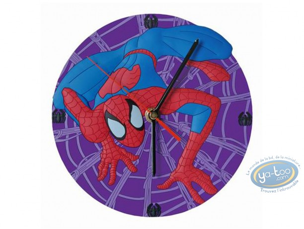 Horlogerie, Spiderman : Horloge, Spiderman