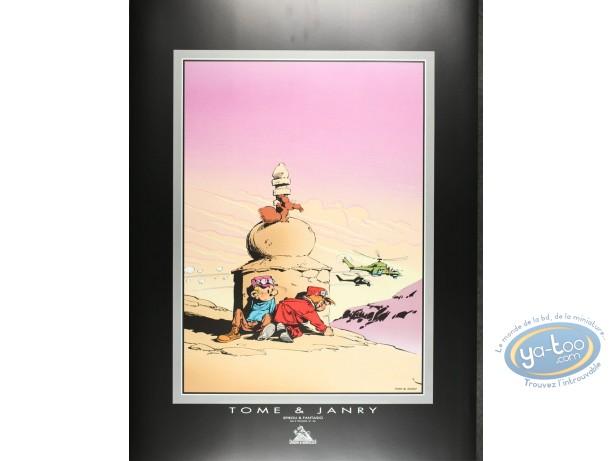 Affiche Offset, Spirou et Fantasio : Tibet