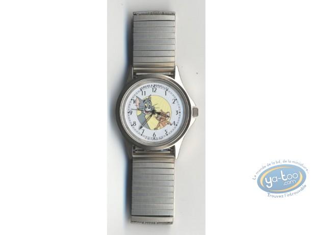 Horlogerie, Tom et Jerry : Montre, Tom & Jerry bracelet métal