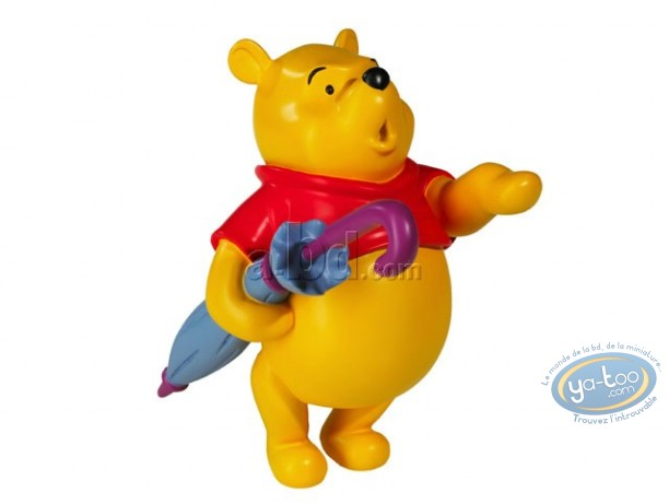 Statuette résine, Winnie l'Ourson : Winnie l'ourson