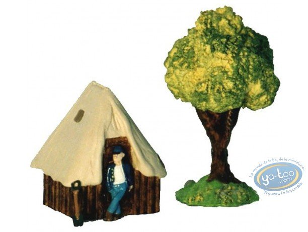 Figurine métal, Tuniques Bleues (Les) : Le Camp - Tente sanitaire