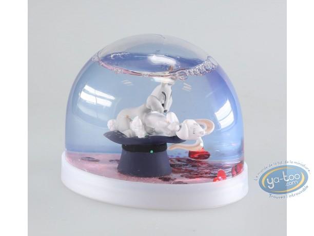 Déco, Show Lapin : Boule à neige, Show Lapin