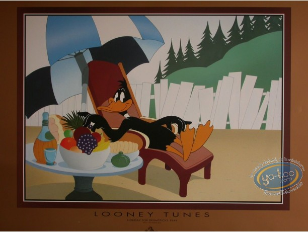 Affiche Offset, Daffy Duck : Holiday for drumsticks, Warner Bros
