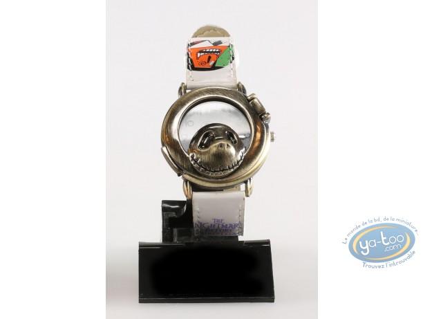 Horlogerie, Etrange Noël de Mr. Jack (L') : Montre, Personnage - Bracelet cuir blanc