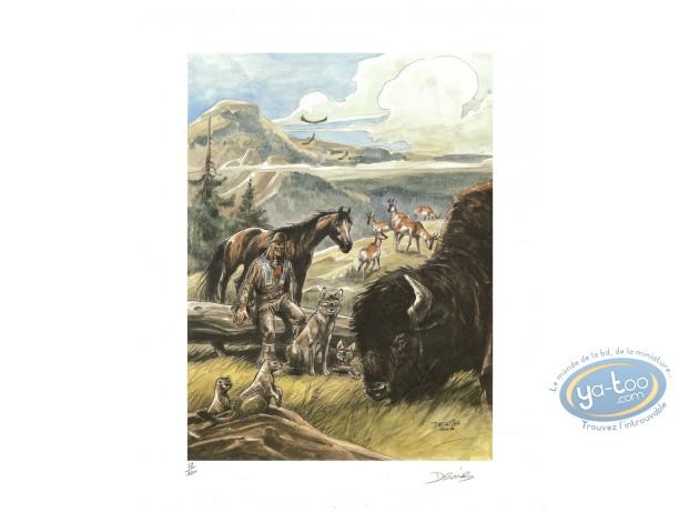 Affiche Offset, Buddy Longway : Bison