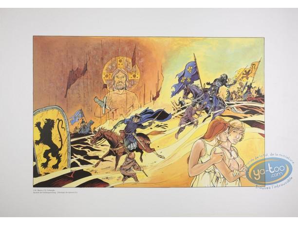 Affiche Offset, Chronique des Eperons d'Or : Matton, Chronique des éperons d'or