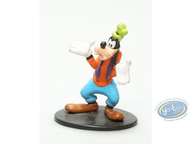 Figurine plastique, Mickey Mouse : Goofy sur socle, Disney