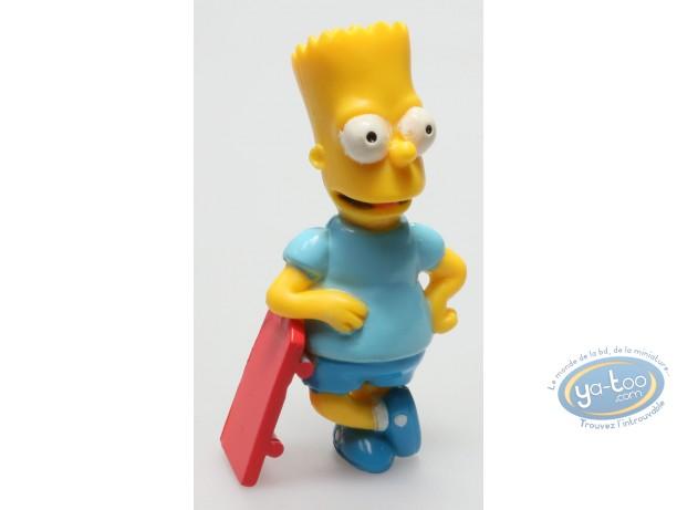 Figurine plastique, Simpson (Les) : Bart skate