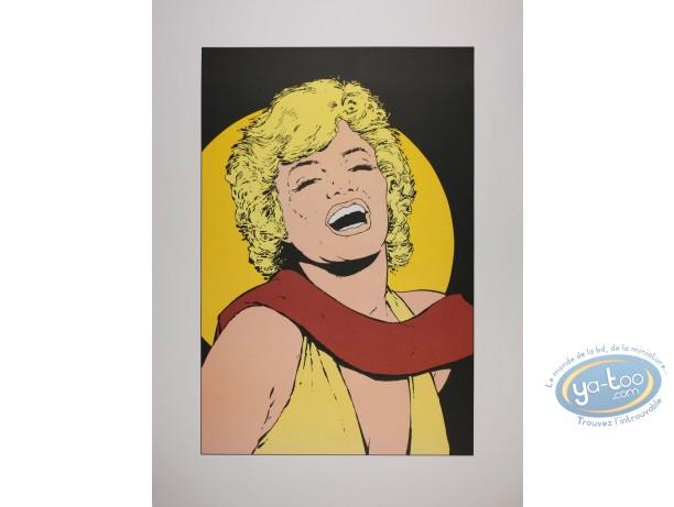 Affiche Offset, Marilyn Monroe : Marilyn Monroe