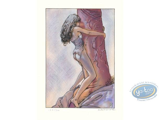 Affiche Sérigraphie, Gulliveriana : Gulliveriana, Manara