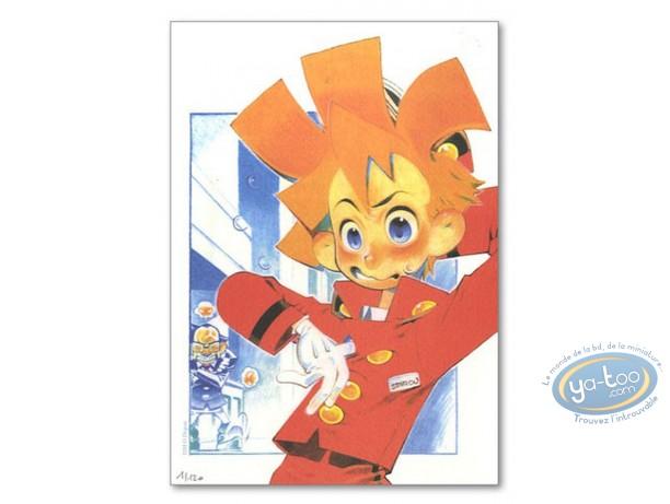 Ex-libris Offset, Spirou et Fantasio : Spirou manga