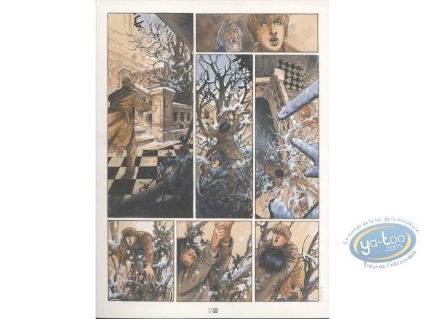 Ex-libris Offset, Ange-Marie : planche inédite
