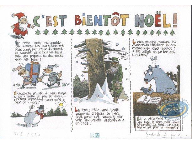 Ex-libris Offset, Catastrophes au Pays du Père Noël : C'est bientôt Noël