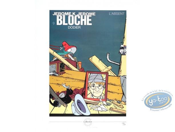 Affiche Offset, Jérome K Bloche : L'absent