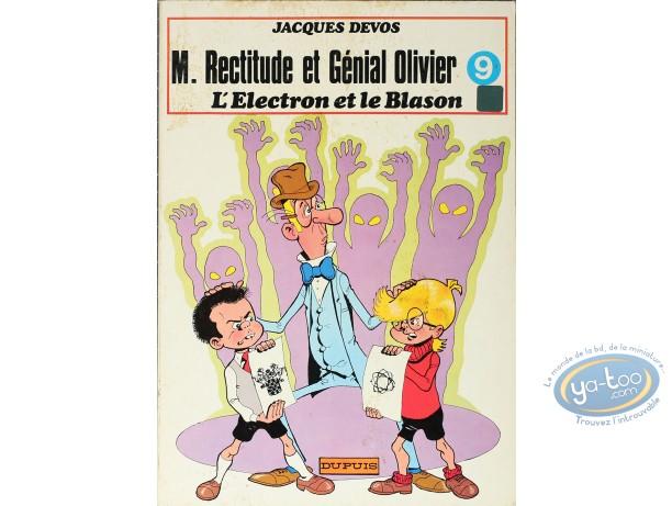 BD cotée, M. Rectitude et Génial Olivier : L'électron et le blason