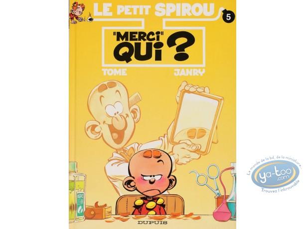 """BD cotée, Petit Spirou (Le) : """"MERCI"""" Qui ?"""