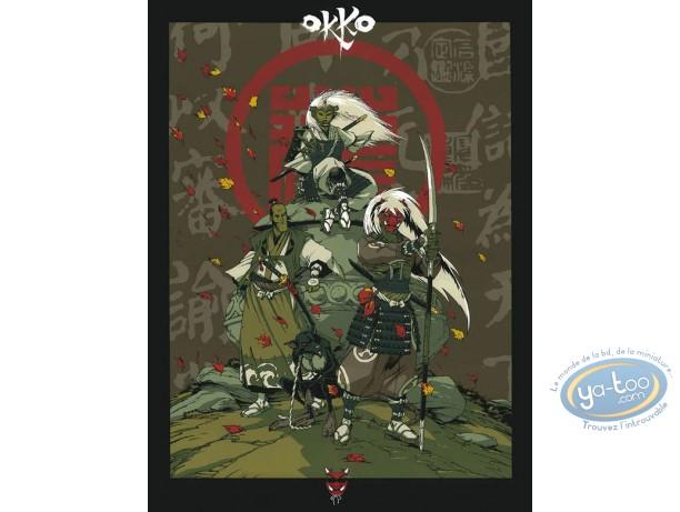 Affiche Sérigraphie, Okko : Hub, Okko