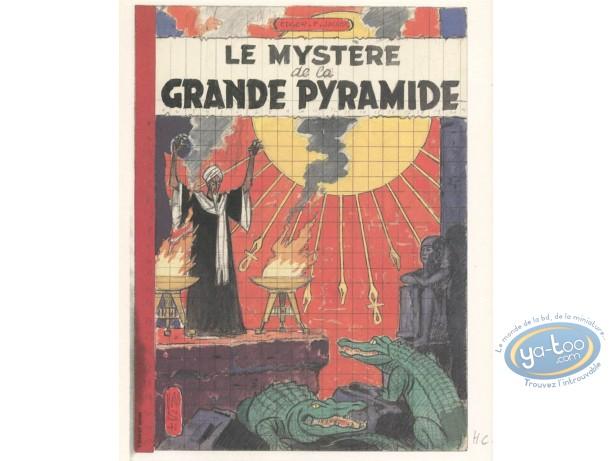 Affiche Offset, Blake et Mortimer : Le Mystère de la Grande Pyramide