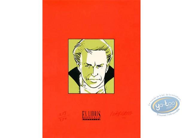 Ex-libris Sérigraphie, Dallas Barr : Dallas